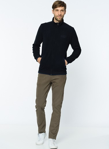Fermuarlı Polar Sweatshirt-Lee Cooper